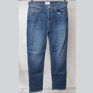 Hudson High Rise Ankle Cropped Jeans Size